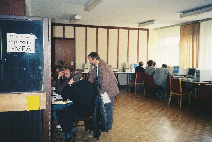 Softwaretraining Warschau Oktober 1993